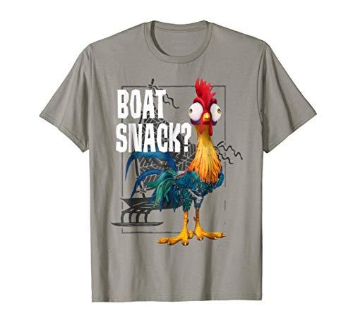 Disney Moana Hei Hei Boat Snack? Graphic T-Shirt T-Shirt
