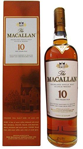 Macallan Sherry Oak 10 Years Old mit Geschenkverpackung (1 x 0.7 l)
