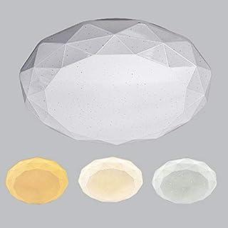 PLAFÓN LED PUNTITOS, MULTIÁNGULO, 18W + 18W REGULABLE EN 3 COLORES, LUZ BLANCA,LUZ CÁLIDA Y LUZ AMARILLA, (Ø330MM)