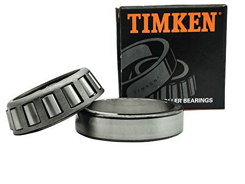 TIMKEN 32007 X 2Pcs Tapered Roller Bearing Assembly - 35 mm Bore, 62 mm OD, 18 mm Cone Width, Wheel Bearing