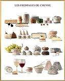 1art1 Käse Poster Kunstdruck und Kunststoff-Rahmen -