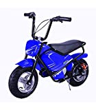 Mini moto eléctrica infantil 250w / mini scooter para niños de bateria/moto infantil electrica 24V 7AH (Azul)