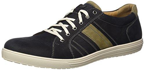 Jomos Herren Ariva Sneakers, Mehrfarbig (Schwarz/Asphalt), 42 EU