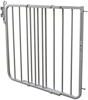 Cardinal Gates Auto-Lock Gate, White - Adjustable Width Expands to 40