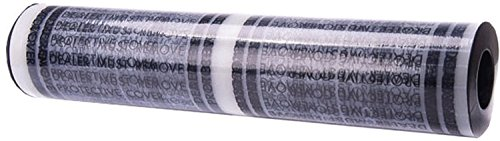 "Automotive Carpet Plastic Film, Perforated, Printed Dealer Must Remove, 24"" Wide x 200' Long"