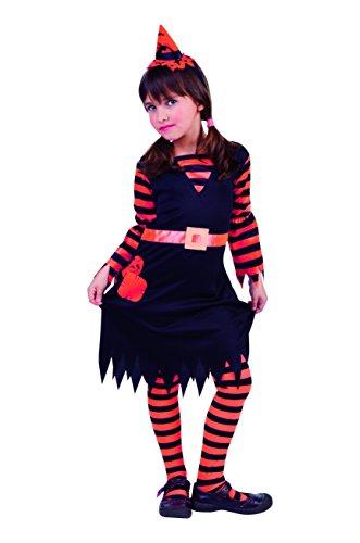 Rubies Disfraz Infantil - Brujita Naranja 5-7 años