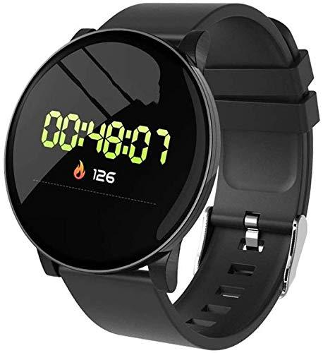 SmartWatch met hartslagmonitor, waterdicht horloge met slaapmonitor, Calorie Step Counter Watch-4 kleuren
