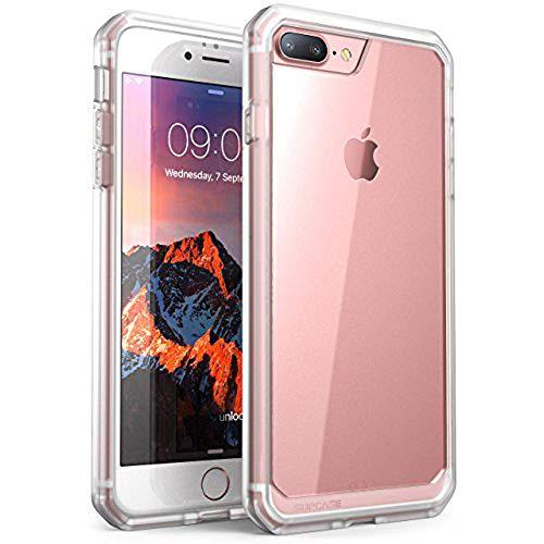 SUPCASEUnicornBeetleSeries,CapaProtetoraparaiPhone8Plus,CapaProtetoraHíbridaPremiumTransparenteparaAppleiPhone7Plus2016/iPhone8Plus2017(Frost/Clear)