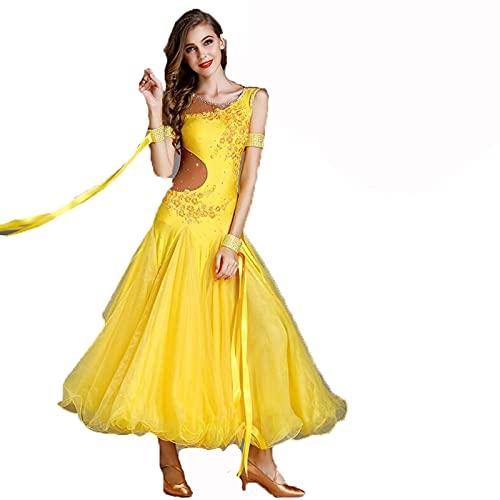Mujeres Vestidos de Baile de Salón Ropa Ballroom Profesional Práctica de Disfraces...