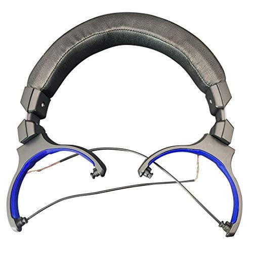 GLASSNOBLE Cuerda de Banda, Ganchos de cojín para Diadema para Audio Technica ATH-Msr7 Msr 7 Reemplazo de Auriculares marrón