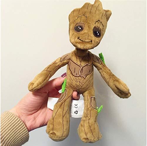 JIAL Gefüllte Spielzeug Groot gefüllte Spielzeug Kleiner Baum Mann Plüschtier Puppe Muppet Spielzeug Puppen Geschenke for Kinder 22cm Chongxiang