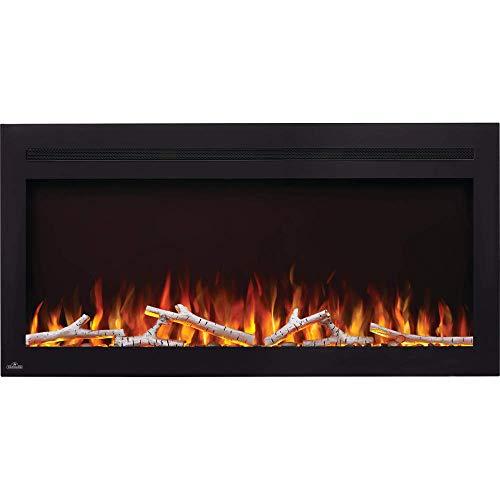 Napoleon Purview NEFL42HI Electric Wall Hanging Fireplace, 42 Inch, Black