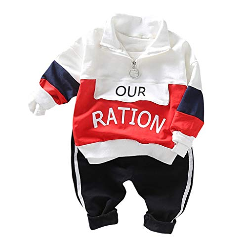 Hui.Hui Bébé Ensemble de Deux PièCes,Pantalon et Mignon Sweats à Capuche Vert Tops sans Manches Vêtements Outfit pour Enfants 12 Mois-5 Ans