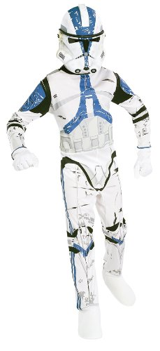 Rubies - Disfraz Clone Wars Star Wars de niño de 8 a 10 años (341021-L)