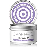 lavender scented aromatherapy candle