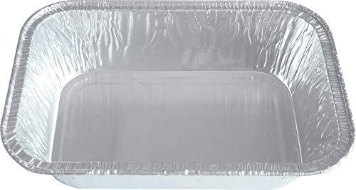 100 x Contital Alu-Schalen 160 x 110 x 37 mm, mehrfarbig, 15VA0508