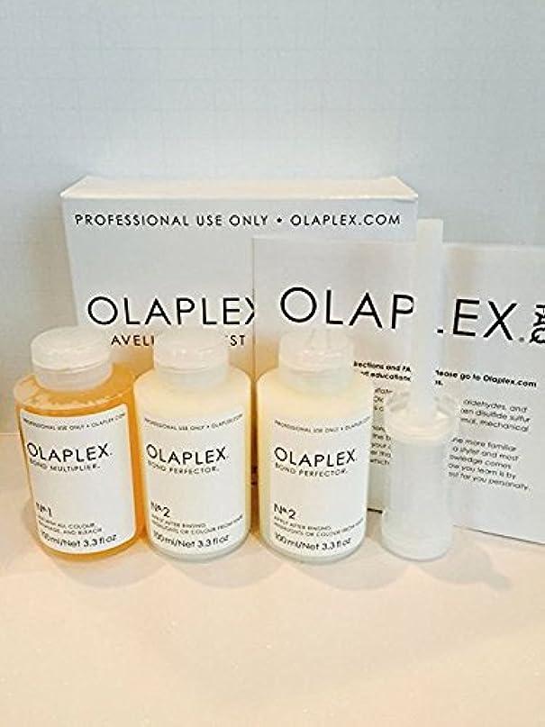 呼び出す矢じり弁護Olaplex Traveling Stylist Kit, Bond Multiplier 1 and Bond Perfector 2, No Box by Stylist Kit