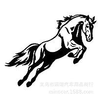 ZDZCLI 馬のトーテム車のステッカー車のステッカー車ステッカーFeimaliema (Color : Black)