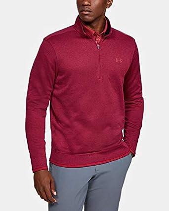 Under Armour SweaterFleece 1/2 Zip Parte Superior del Calentamiento Hombre