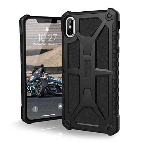 URBAN ARMOR GEAR UAG iPhone Xs Max [6.5-inch Screen] Monarch Feather-Light Rugged [Black] Military Drop Tested iPhone Case