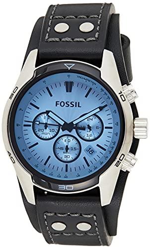 Fossil Orologio Cronografo Quarzo Uomo con Cinturino in Acciaio Inossidabile CH2564