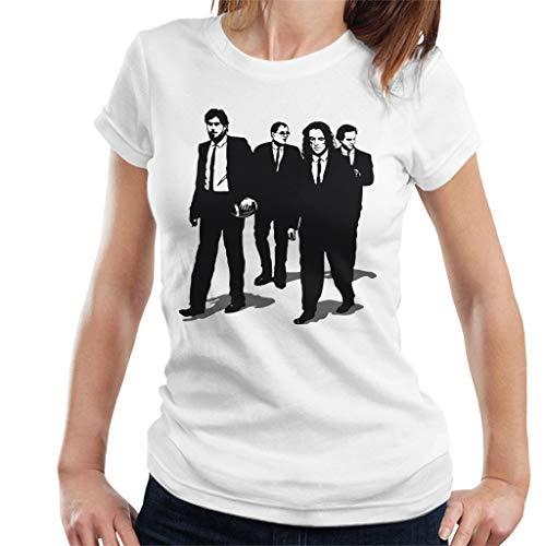 Cloud City 7 Reservior Groomsmen The Room Reservoir Dogs Mashup - Camiseta para mujer