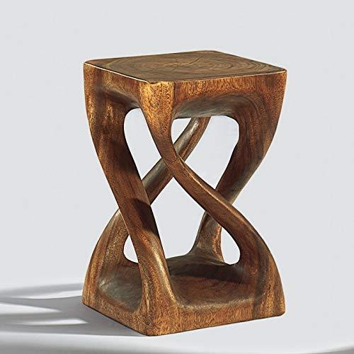 Lambert Cango Hocker 4Bein Holz Massiv, Natur 29X29 H45Cm