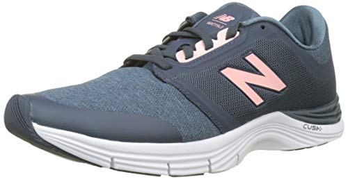 New Balance 715v3 Cross Trainer m, Zapatillas Deportivas para Interior Mujer, Azul (Petrol/Himalayan Pink Ph3), 43 EU