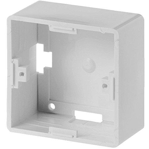 EFB Elektronica RAL9010 wit stopcontact