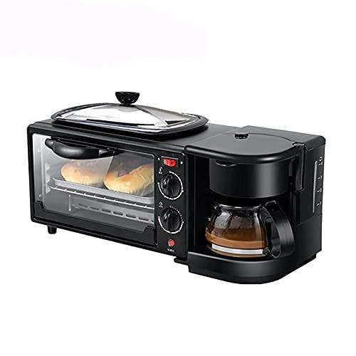 Horno Natural,Mini Horno eléctrico,cafetera multifunción,Horno portátil,Horno Acero Inoxidable,tostadora,Horno para Pizza y Pasteles,para...