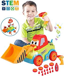 LUKAT Take Apart Toys Truck Toddler DIY...