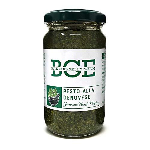Bulk Gourmet Emporium Luxuriöses Genoveser Basilikum-Pesto in Gläsern, 3 x 180g (Gesamteinwaage 540g)