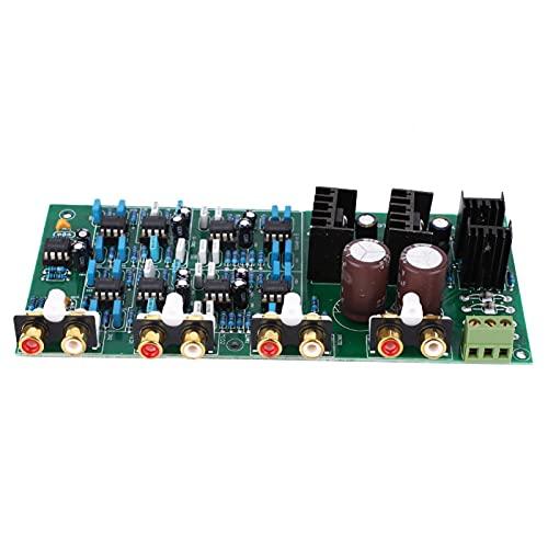 Amplificatore a 6 canali affidabile Linkwitz-Riley Safe NE5532 Amplificatore per circuiti di filtro attivi componenti elettronici