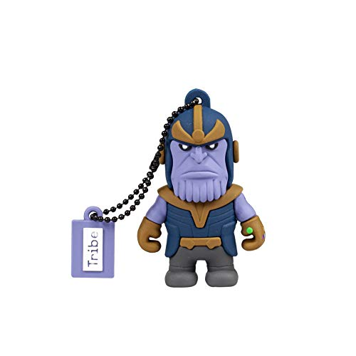 Chiavetta USB 32 GB Thanos - Memoria Flash Drive 2.0 Originale Marvel Avenger, Tribe FD016709