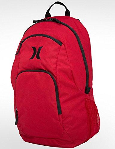 Hurley Wallet One und Only Pack - Mochila de senderismo, color Rojo, talla Talla única