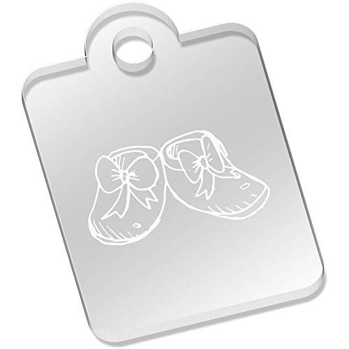 Azeeda'Baby Schuhe' Schlüsselanhänger (AK00030622)