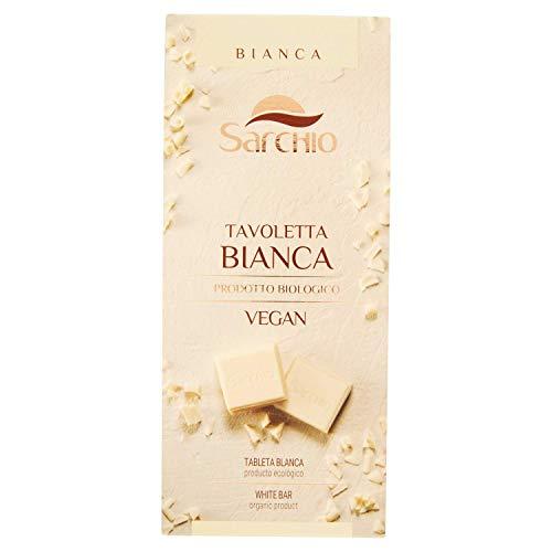 Sarchio Tavoletta Bianca Vegan - Biologico - 6 confezioni da 80 g