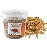 FINCA CASAREJO Mix de Insectos Secos. Alimento deshidratado para gallinas, Pavos, faisanes y Otras Aves de Corral (100)