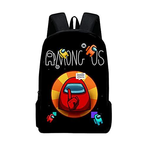 Amon_g Us Mochila - Suministros, bolsas pequeñas para hombres, regalos lindos a las mujeres