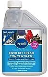 Envii Kit Fresh – Eliminador de Olores Probiótico Para Equipaciones Deportivas – Desodorante de Zapatos en Spray – Neutralizador & Limpiador de Olores – 500ml bottle of concentrate