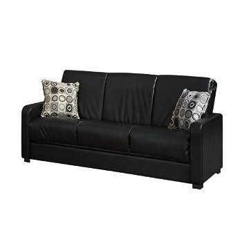 Magnificent Detail Of Handy Living Tahoe Renu Leather Convert A Couch Frankydiablos Diy Chair Ideas Frankydiabloscom