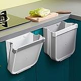 Cubos Basura Cocina Plegable Colgante,Cubo de Basura Reciclaje,Papelera de Cocina