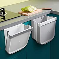 pattumiera cucina,pattumiera sospesa pieghevole cestino piccolo,cestino spazzatura secchio spazzatura per cucina,bagno solo uno