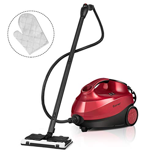 Find Bargain COSTWAY 2000W Multipurpose Steam Cleaner with 19 Accessories, Household Steamer w/ 1.5L...