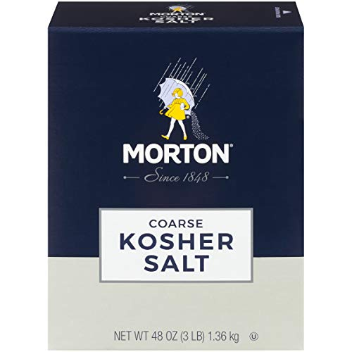 Morton Coarse Kosher Salt 48oz