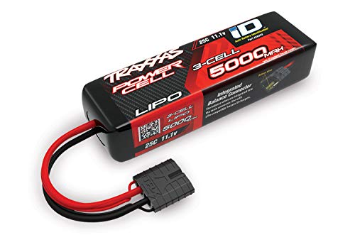 Traxxas TRA2832X 2832X 3S 11.1V 5000mAh 3 Cell LiPo Battery, Short