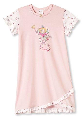 Schiesser Mädchen Nachthemd Halbarm 1/2 Lillifee - 133083, Größe Kinder:92;Farbe:rosa
