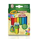 Crayola Modeling Clay, 4.8 Ounce Pack, Set of 8, Assorted Classi, 4 Oz
