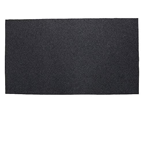 GOTOTOP BBQ Bodenmatte, Anti-Rutsch Feuerfeste Bodenschutzmatte Hitzebeständige Gasgrill Spritzmatte für Hinterhof Outdoor, 75 x 124 cm