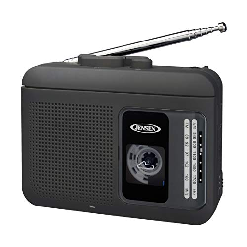 JENSEN MCR-75 Personal Cassette Player/Recorder with AM/FM Radio